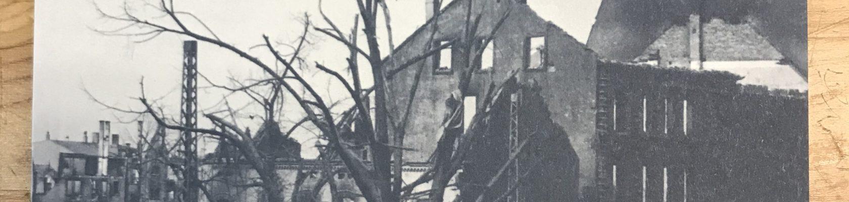 Im Morgengrauen des 18. März 1945 herrschte noch Totenstille